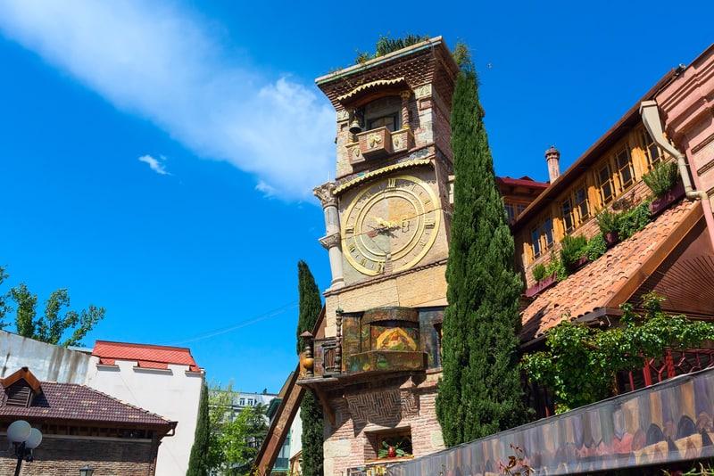 Saat Kulesi Tiflis Gürcistan
