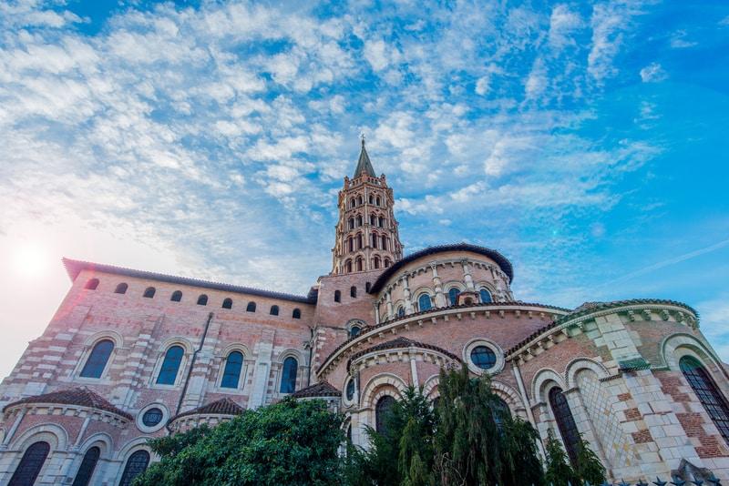 Saint-Sernin Bazilikası Toulouse