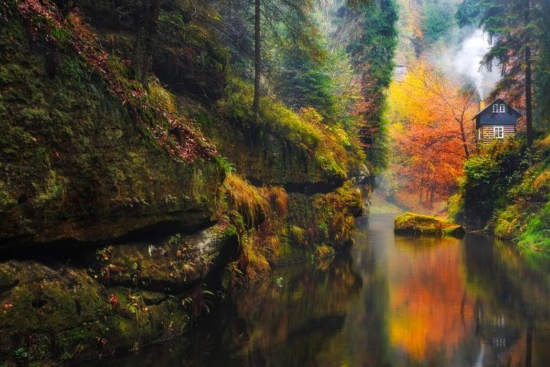 Almanya Sakson İsviçre Ulusal Parkı