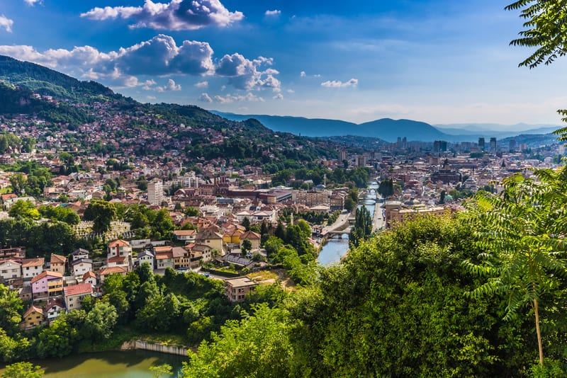 Saraybosna - Bosna Hersek'in En Güzel Şehri