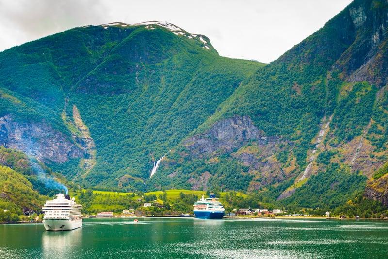Sogne Fiyordu - Norveç Fiyortları