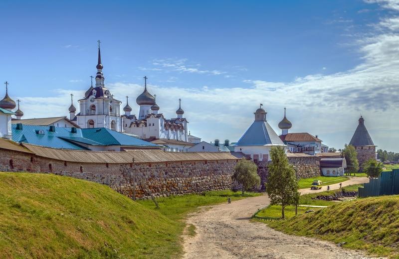 Solovetsky Adaları - Solovki Manastırı Rusya