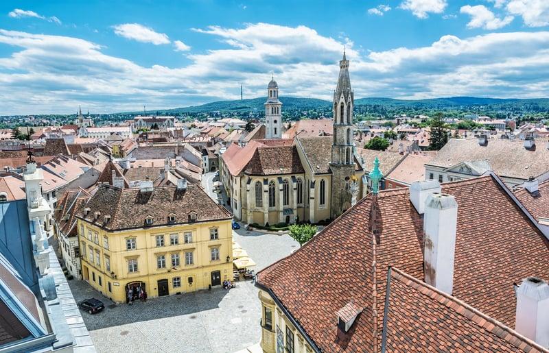 Sopron Şehri - Macaristan