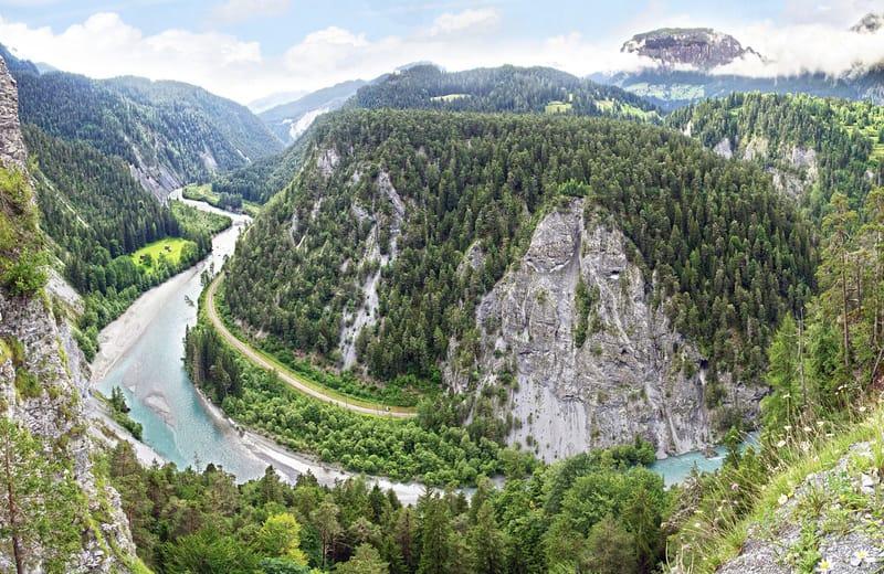 İsviçre Büyük Kanyonu