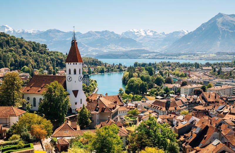 Thun Şehri İsviçre