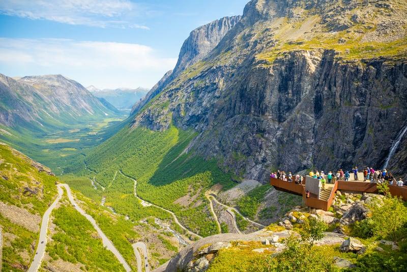 Trollstigen Yolu Norveç