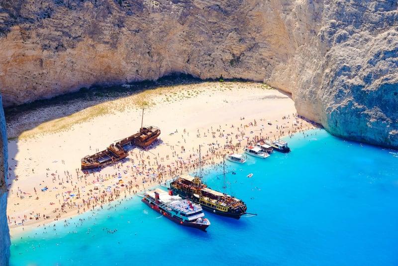 Shipwreck Zakynthos Adası