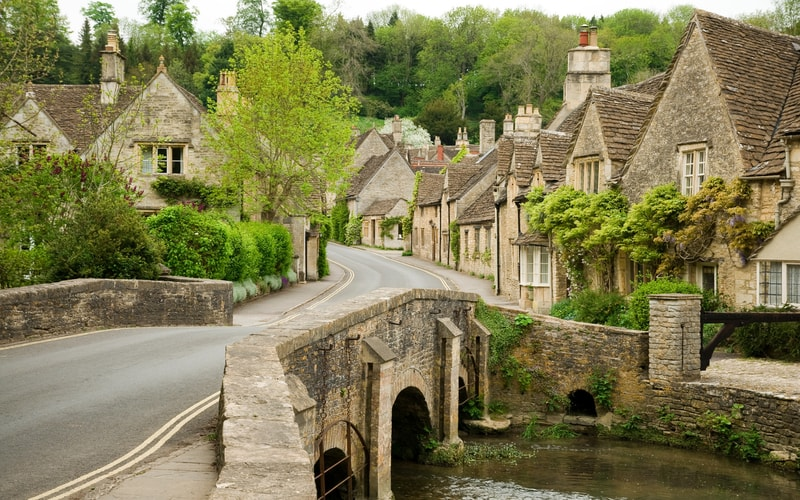 The Cotswolds - Castle Combe