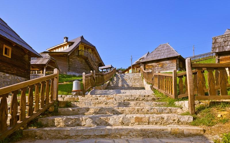 Drvengrad Köyü Sırbistan