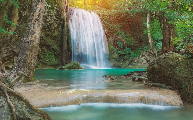 Erawan Milli Parkı tayland