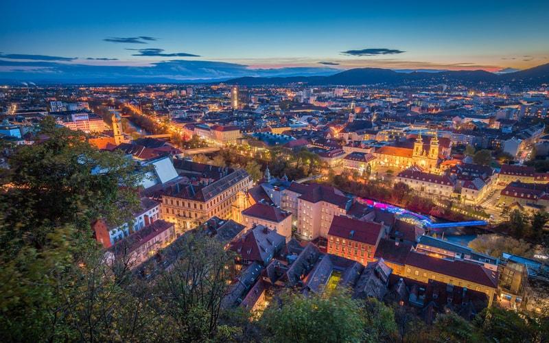 Graz - Avusturya Gezilecek Yerler Blog