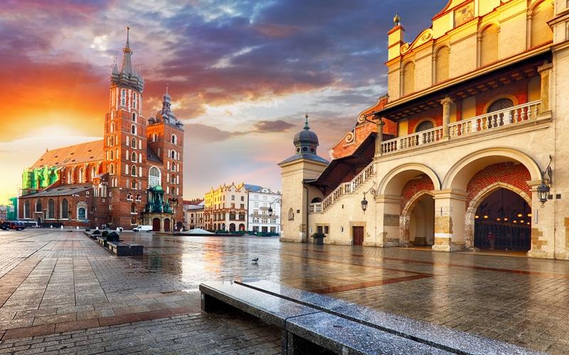 Krakow - Orta Avrupa Şehirleri