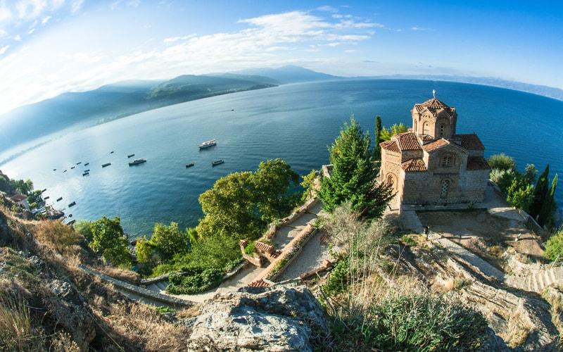 Ohrid Gölü Makedonya
