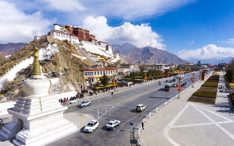 Potala Sarayı - Tibet