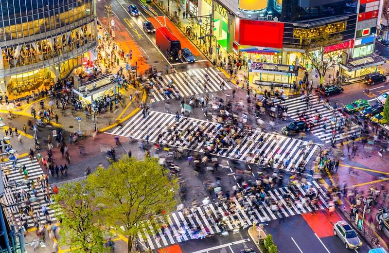 Shibuya Geçidi Tokyo