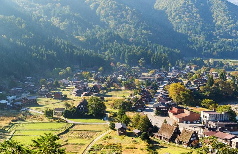 Shirakawa Köyü