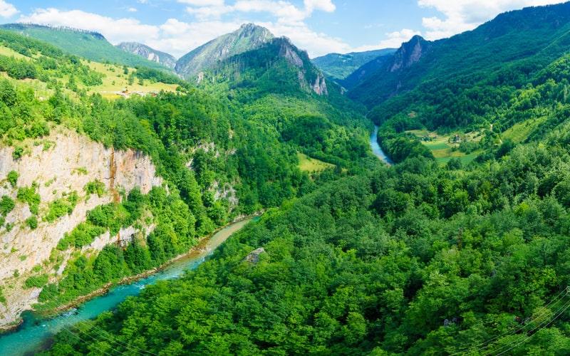 Tara Nehri Kanyonu Karadağ Gezilecek Yerler