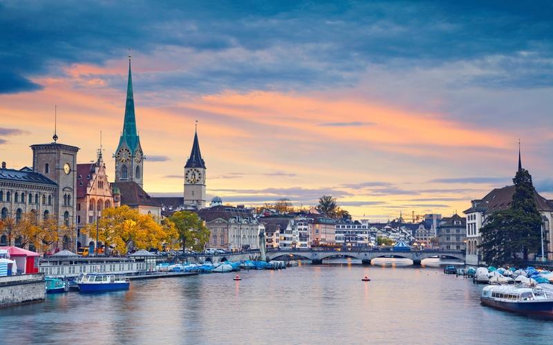 Zürih - Orta Avrupa'nın En Güzel Şehirleri