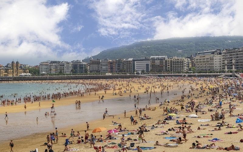 La Concha Plajı