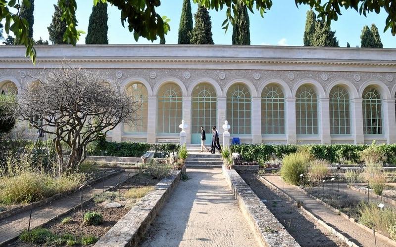 Jardin des Plantes - Botanik bahçesi
