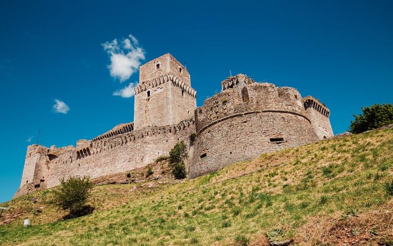 Rocca Maggiore - Assisi Gezilecek Yerler