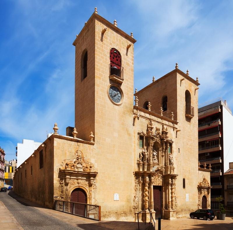 Alicante Santa Maria Bazilikası