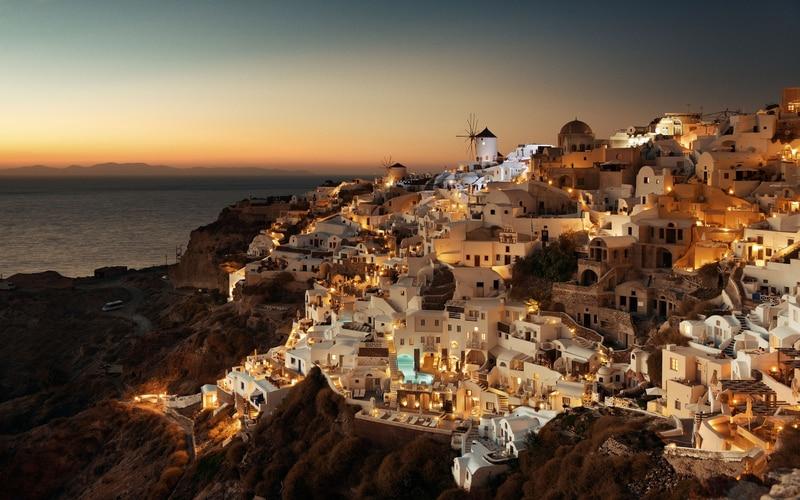 Santorini Güney Avrupa