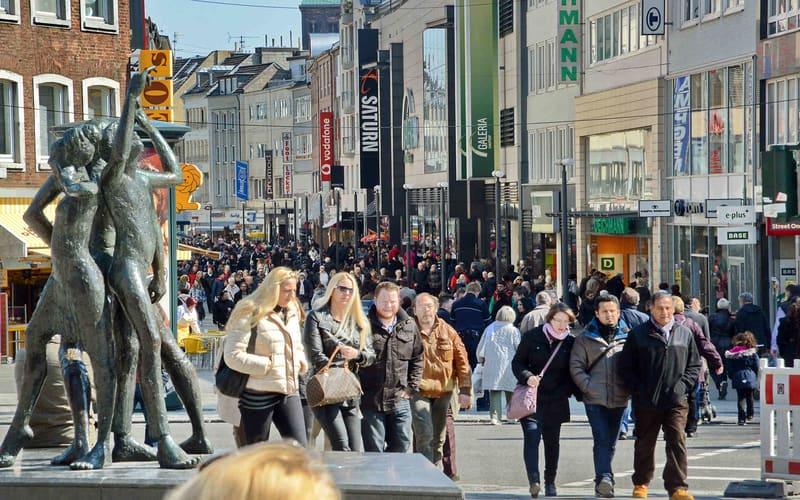 Adalbertstrasse Alışveriş caddesi