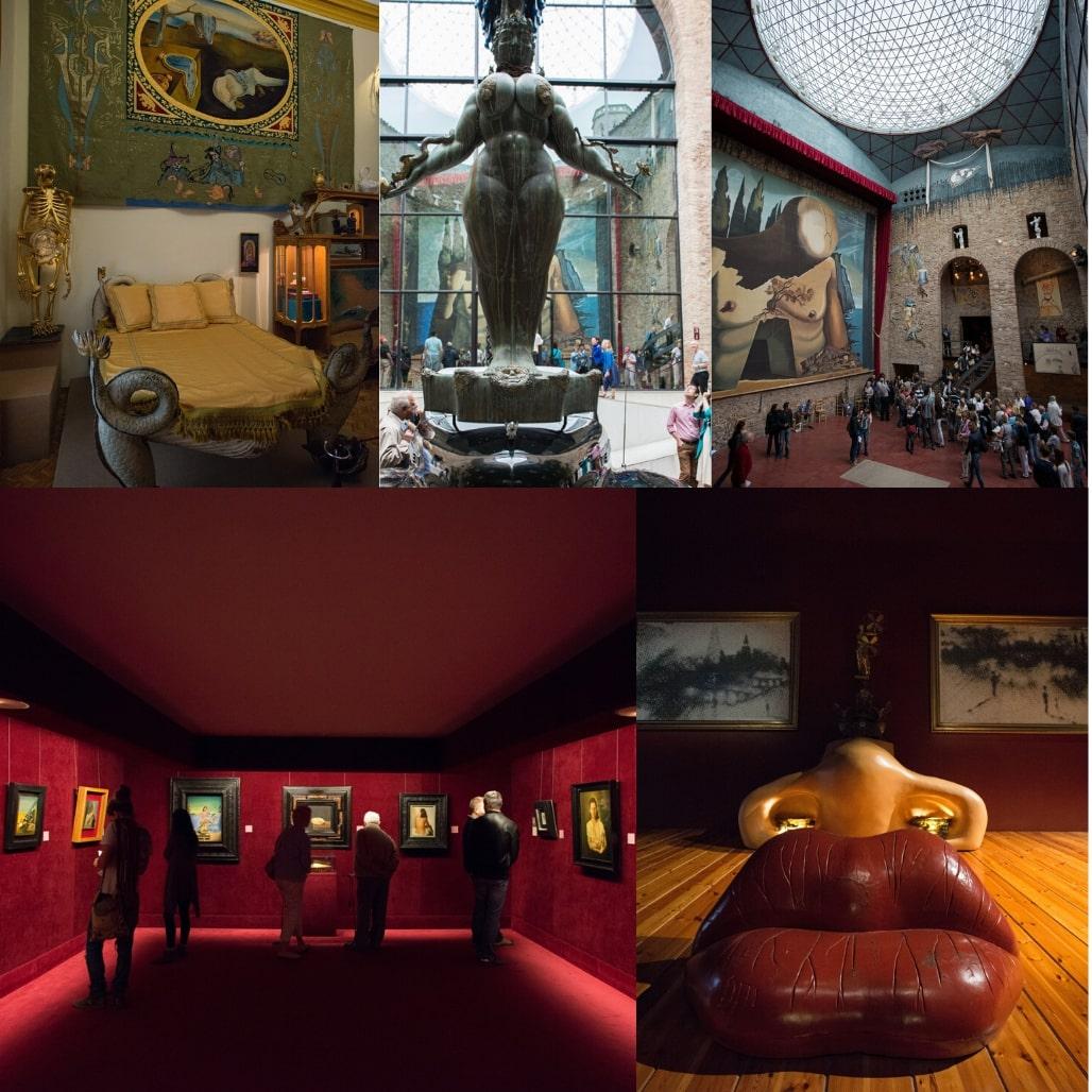 Dali Tiyatrosu ve Müzesi Figueres