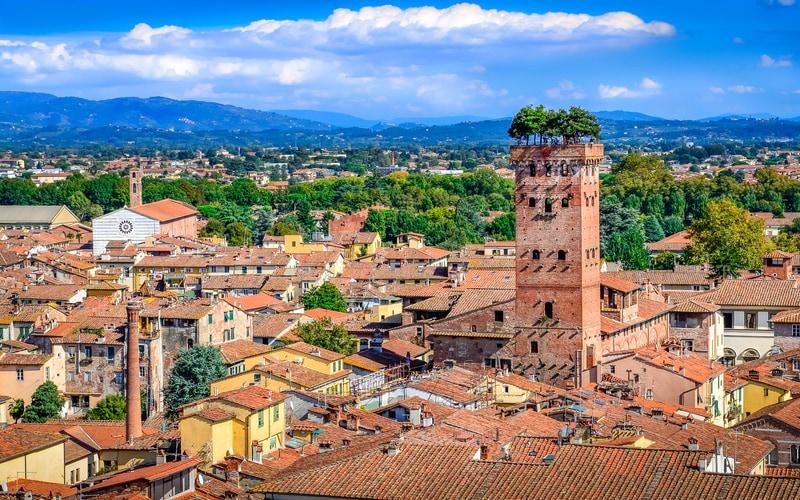 Torre Guinigi Lucca (Guinigi Kulesi)