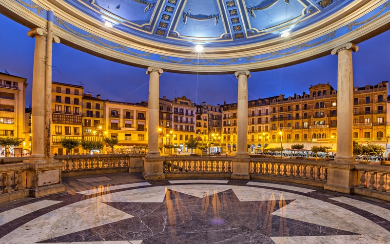 Plaza del Castillo - Pamplona Gezilecek Yerler