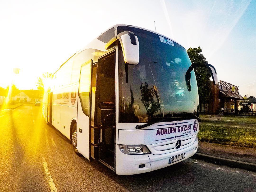 Otobüsle Avrupa Turu