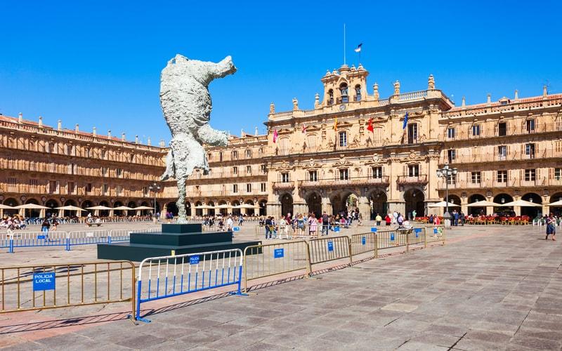 Plaza Mayor - Salamanca Gezilecek Yerler