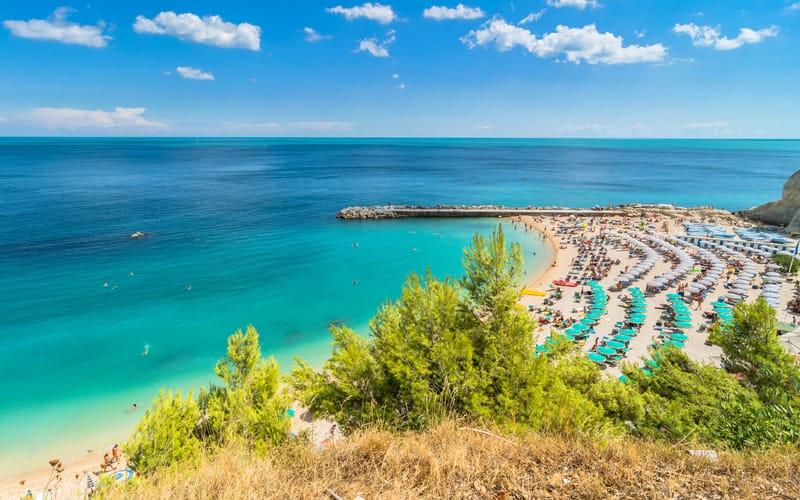 Sirolo Plajı - Ancona Gezilecek Yerler