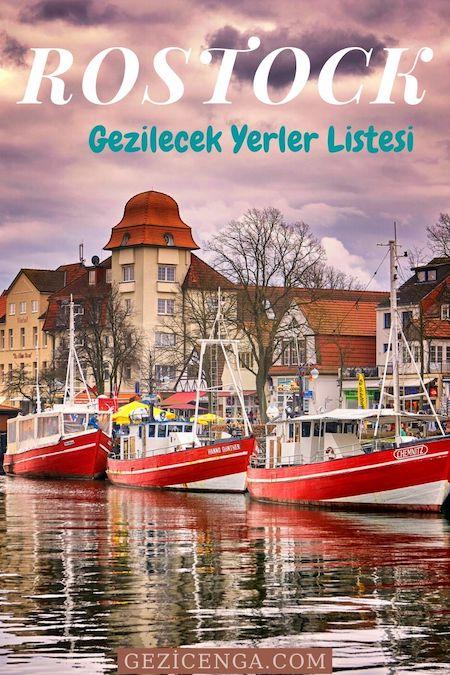 Rostock Gezilecek Yerler Listesi