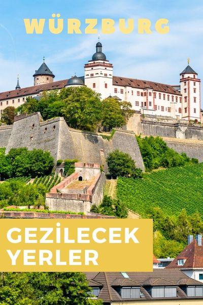 Würzburg Gezilecek Yerler Rehberi