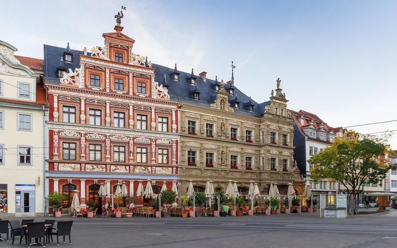 Fischmarkt- Erfurt Gezilecek Yerler