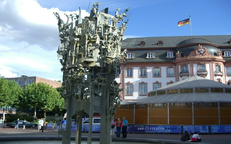 Schillerplatz - Mainz Gezilecek Yerler