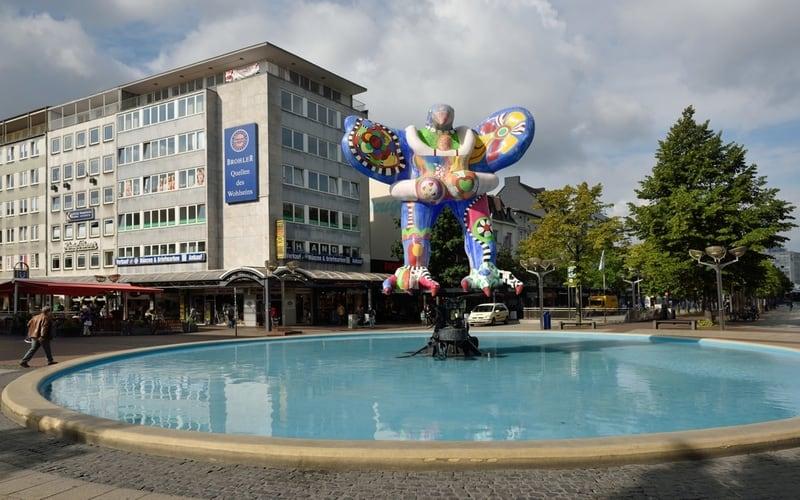 Königstraße - Duisburg Gezilecek Yerler