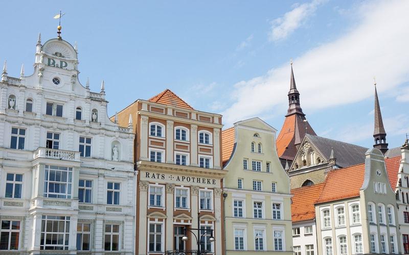 Neuer Markt - Rostock Gezilecek Yerler