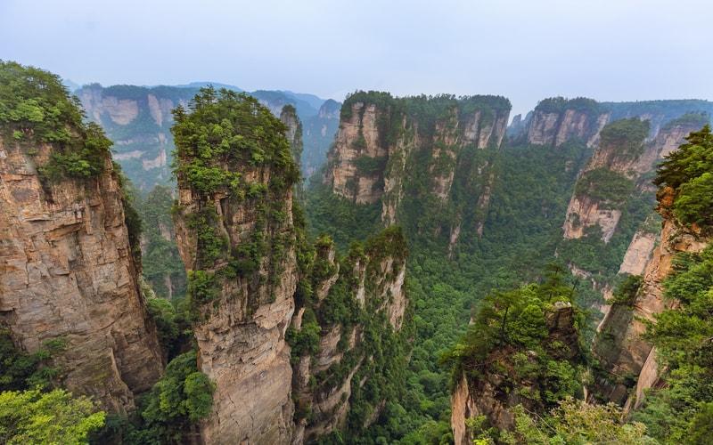 Tianzi Dağları (Tianzi Mountain)