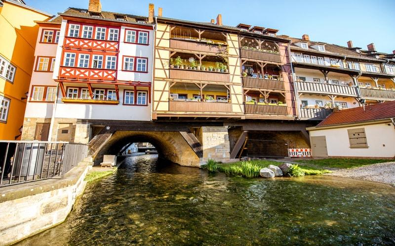 Krämerbrücke (Tüccarlar Köprüsü)